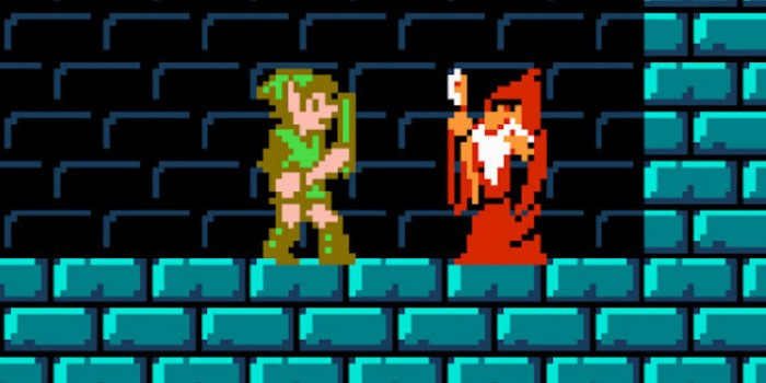 Zelda II: The Adventure of Link - Cane and Rinse 204