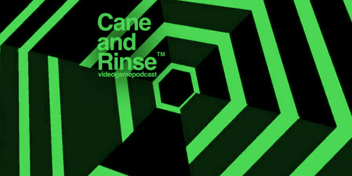 Super Hexagon - The Cane and Rinse videogame podcast No.281