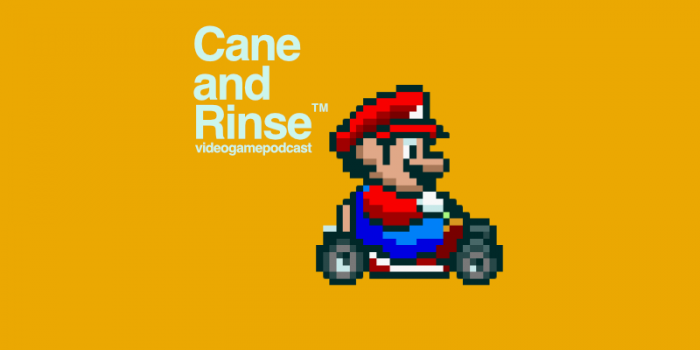 Super Mario Kart - The Cane and Rinse videogame podcast No.282