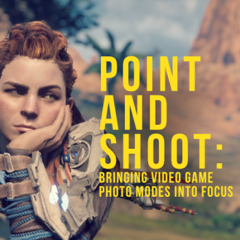 Point and shoot: Bringing videogame photo modes into focus