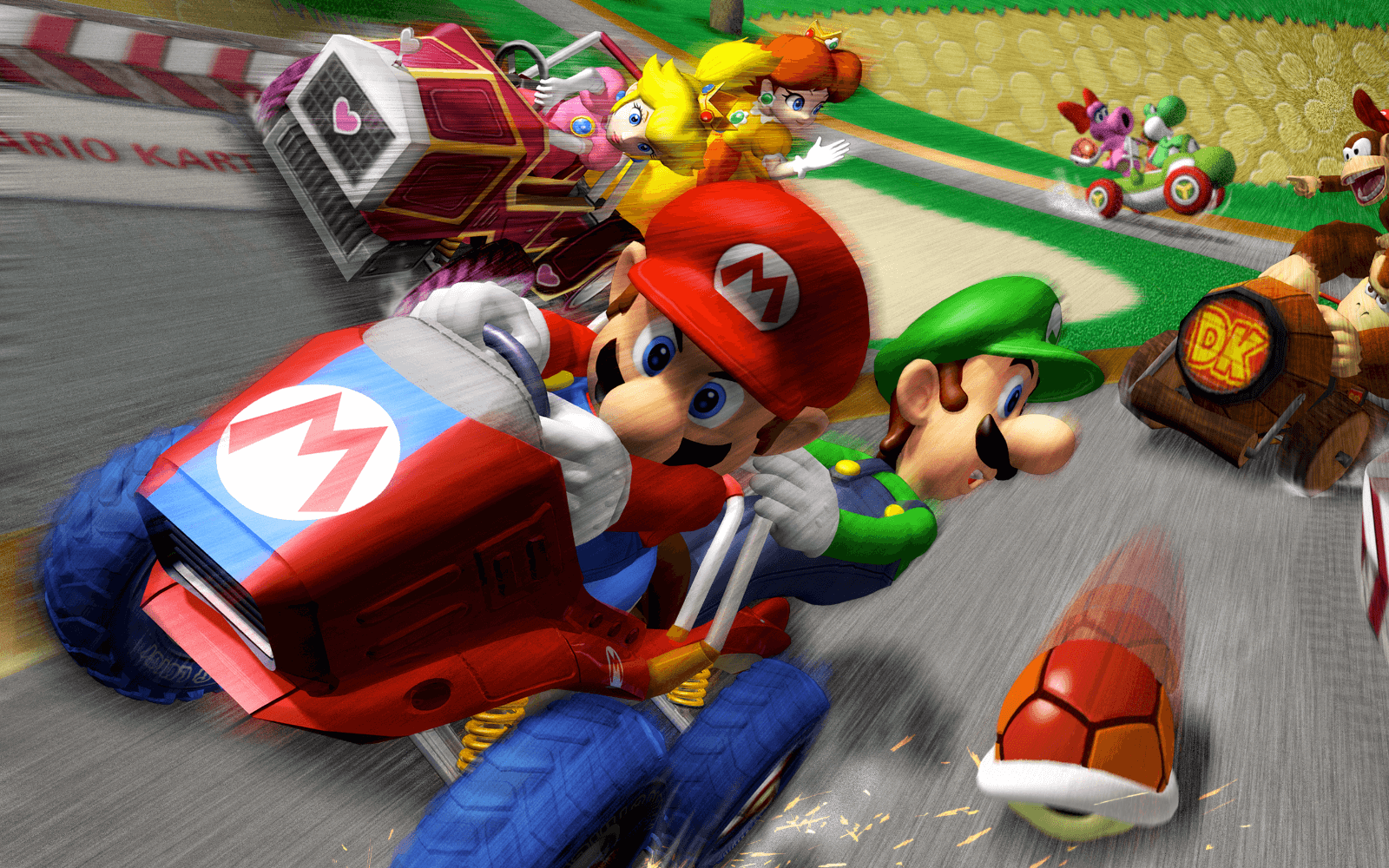 Mario Kart Double Dash The Cane And Rinse Videogame Podcast